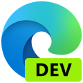 Microsoft Edge dev ロゴ