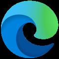 Microsoft Edge stable ロゴ